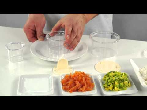 Video Formičky na tvarování pokrmů, květiny, 2 ks 2