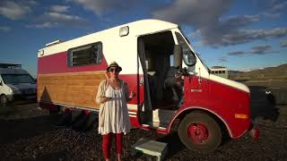 Single Mom Self Converts Fire Truck Into Tiny Home To Travel With Her Daughter