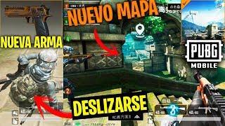 ¡la Mayor Actualizacion De Pubg Mobile! Deslizarse, Nuevo Mapa, Nueva Arma, Tanke, Parkour...