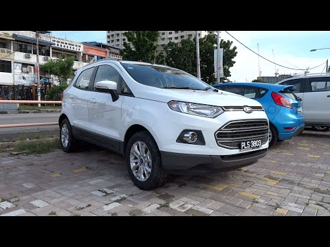 Фото к видео: 2014 Ford EcoSport 1.5 Ti-VCT Titanium Start-Up and Full Vehicle Tour