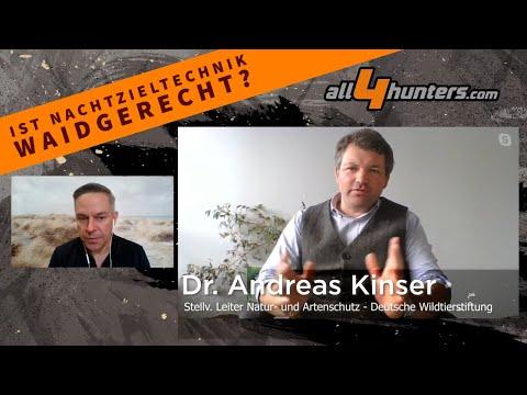 optik: Video-Interview mit der Deutschen Wildtier Stiftung: Wärmebildtechnik und Nachtzieltechnik – unter welchen Voraussetzungen ist das waidgerecht?