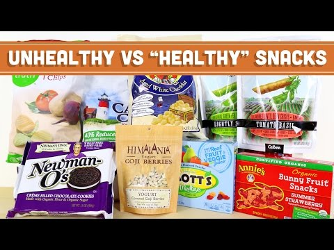 "Video Unhealthy VS ""Healthy"" Snack Foods - Mind Over Munch"