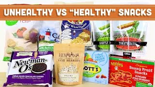 """Unhealthy VS """"Healthy"""" Snack Foods - Mind Over Munch"""