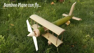 How to make bamboo Aeroplane can fly.