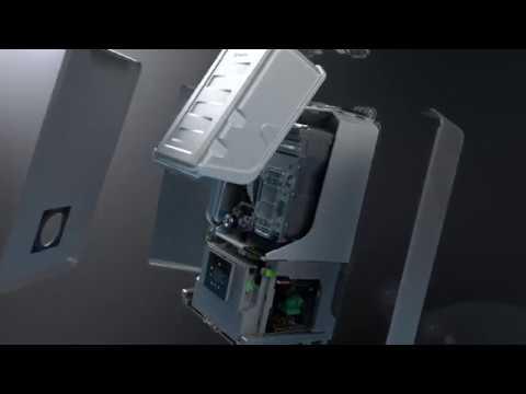 Chaudière murale gaz condensation CONDENS 8700IW 30 / 35kW noire