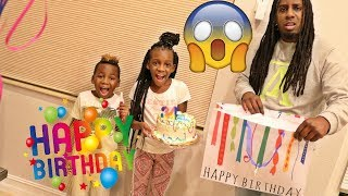 Giving OUR DAD TERRIBLE BIRTHDAY PRESENTS PRANK