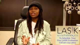 Kelisha Ruise shares her Lasik at Southern Eye Experience