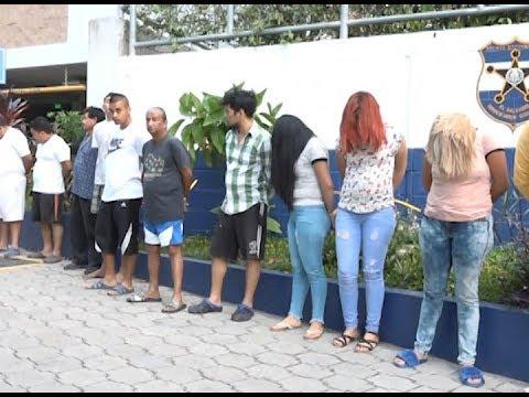 Varias capturas por operativo en el centro de San Salvador