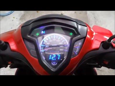 Video My 2012 Jupiter Z1 - Lampu Hazard & Voltmeter Koso Installed