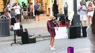 Street Music by karolina violin Closer - The Chainsmokers