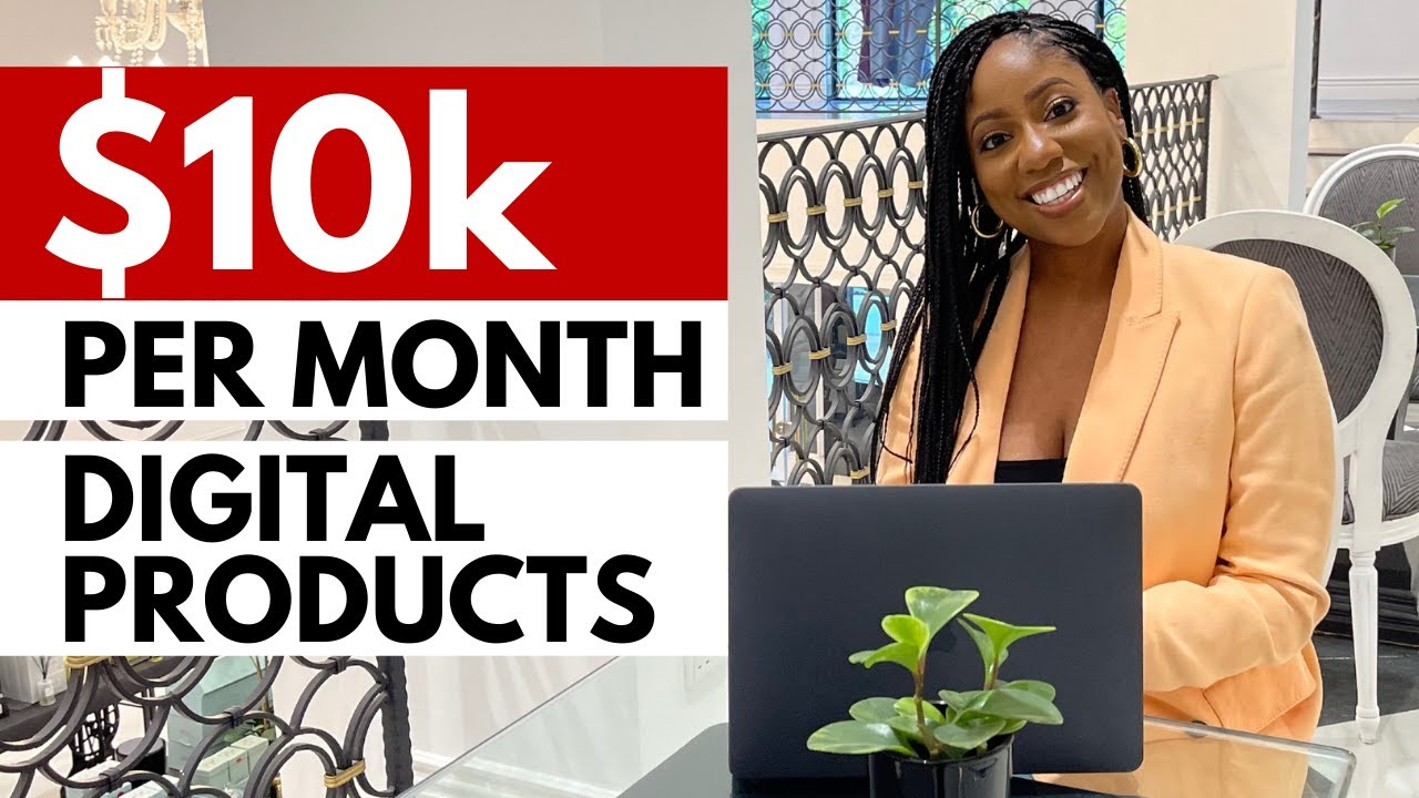 THE VERY BEST method to MAKE MONEY ONLINE (with a $0 financial investment) Digital Product Ideas thumbnail