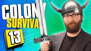 HOW VIKINGS MADE SWORDS | Colony Survival #13