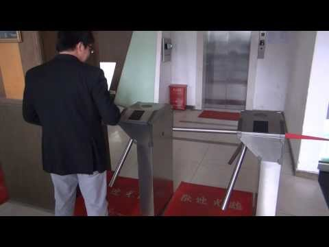 ZKTeco Turnstile Video