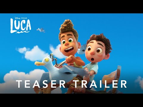 Luca – Il trailer ufficiale