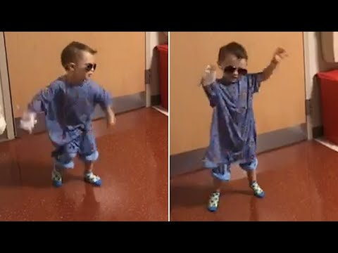 Brave Toddler Dances Before Brain Surgery