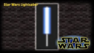 Minecraft   How To Make A Star Wars Lightsaber Banner
