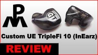 Reshell UE TripleFi 10 Headphone Review Ultimate Ears Earbuds Logitech | Customer IEM In ear monitor