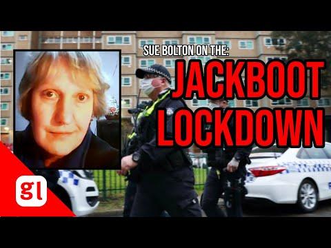 Sue Bolton: the JACKBOOT LOCKDOWN on Melbourne public housing estates