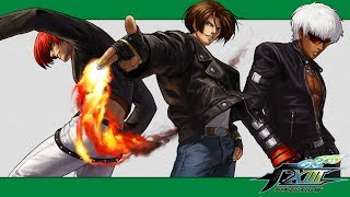 KoF XIII: 100% combo video (Kyo, Iori, K' teams)