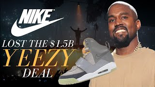 How Nike Lost The $1.5bn Yeezy Deal