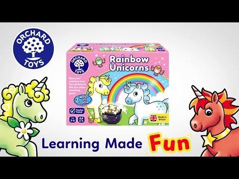Orchard Rainbow Unicorns Game
