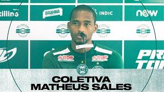 Coletiva Matheus Sales