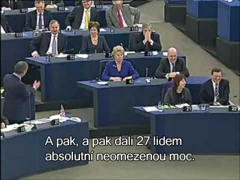 S novým EU socializmem přijdou těžké časy (Nigel Farage)