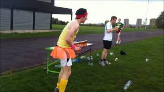 Grand Slam Beer Mile