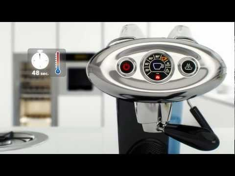 X7.1 Iperespresso illy Coffee Machine: improved with passion for you