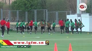 CAN 2019 : Entrainement Des Lions à 48h Du Choc Face à L'Algérie
