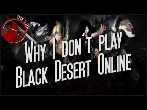 Why I Don't Play Black Desert Online.