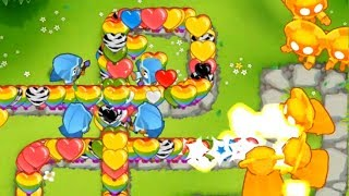Bloons Tower Defense 6 - 5th Tier Temple - The True Sun God - Most