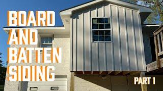 DIY Board and Batten Siding