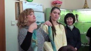 красивые способы завязывания платков и шарфов на шее как завязывать платки