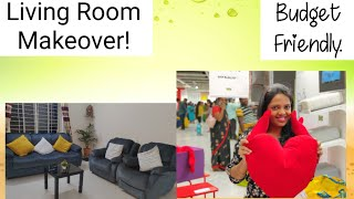 Living Room Makeover| Within Budget| IKEA Products| Simple & Stylish
