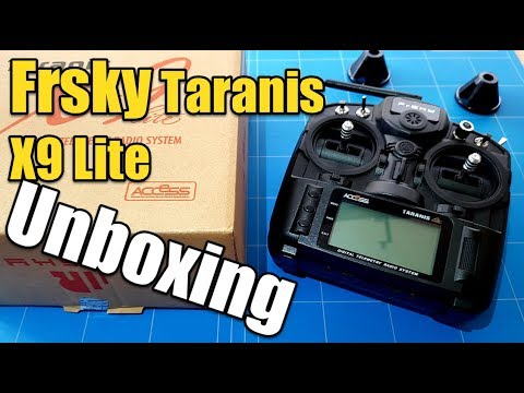 Frsky Taranis X9 Lite Unboxing and First Impression