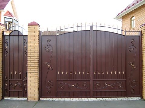 Ворота. Идеальное качество и стильный дизайн!