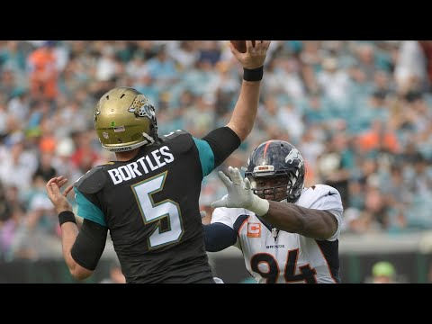 Broncos agree to terms with free agent QB Blake Bortles