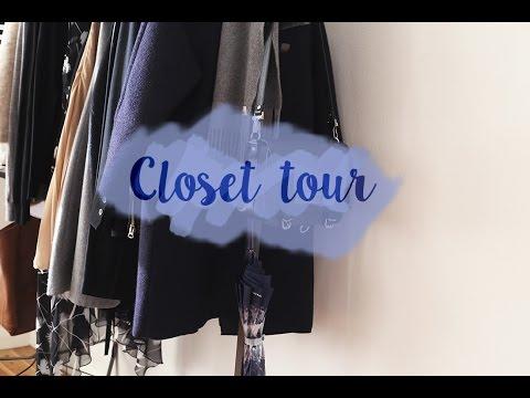 Closet / Wardrobe Tour & Organisation Tips 2015 | Mademoiselle