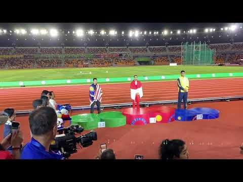 SEA GAMES 2019 LONG JUMP MEN | MEDAL CEREMONY