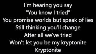 Thorsteinn Einarsson   Kryptonite LYRICS