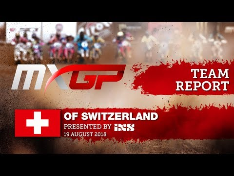 Team Report Standing Construct KTM   MXGP of Switzerland presented by iXS 2018 #motocross