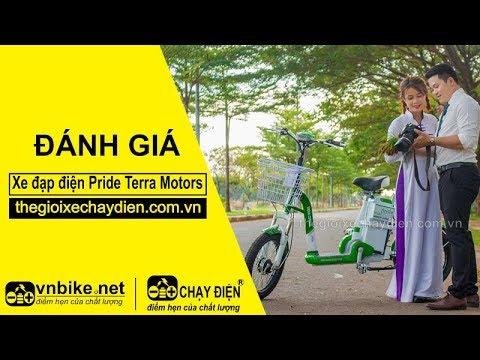 Đánh giá xe đạp điện Fride Terra Motors