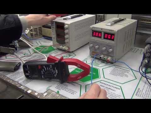 Точность клещей постоянного тока