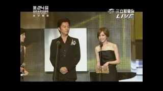 福山雅治+王心凌頒獎最佳音樂錄影帶獎、最佳編曲人獎