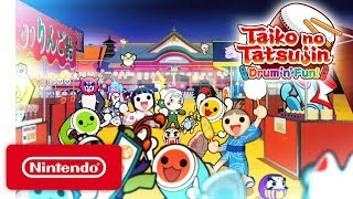 Taiko no Tatsujin: Drum 'n' Fun! - Gameplay Trailer - Nintendo Switch