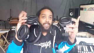 Unboxing New Gear From @YamahaMusicUSA MT8 & MT7 Headphones