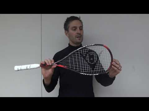 Dunlop Hyperfibre+ Squash Rackets Walkthrough