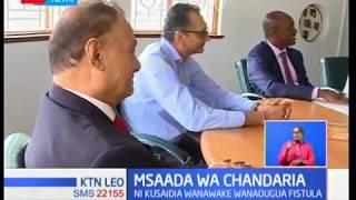 Msaada wa Chandaria:Manu Chandaria,atoa msaada wa laki 8 kusaidia wanawake wanaougua Fistula