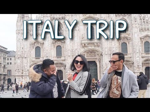 #VLOG27 – BIRTHDAY TRIP TO EUROPE (Part. 1 Italy)